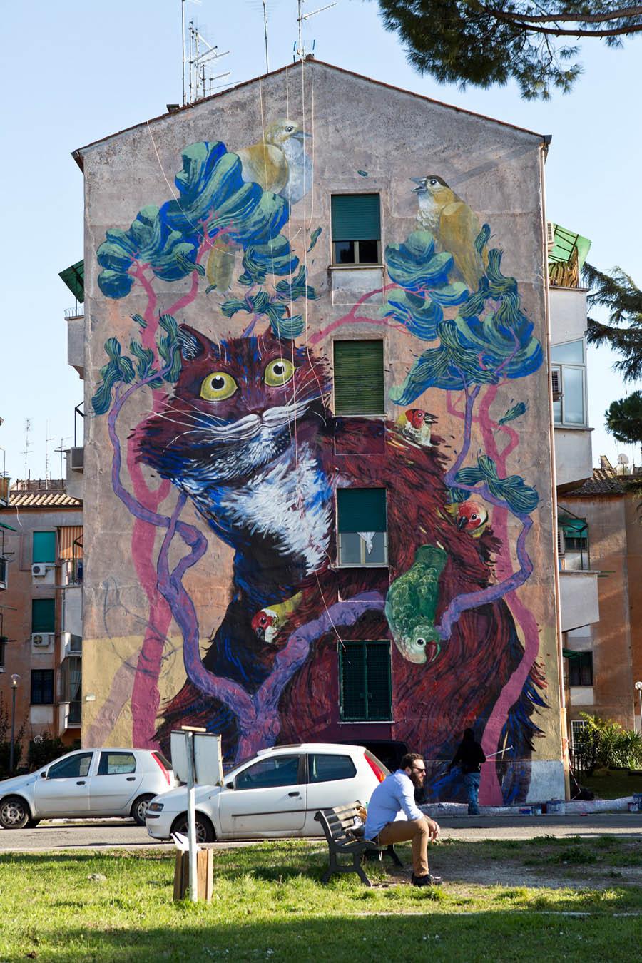 SanBa | San Basilio a ritmo di arte pubblica