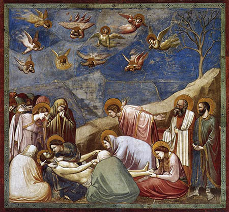 Lamentation (The Mourning of Christ) - Giotto - griot-magazine-
