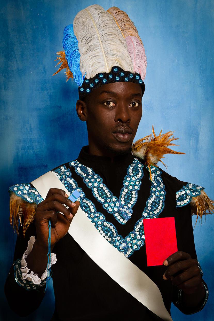 Griot Magazine Albert Badin @Omar Vicotr Diop- Project Diaspora