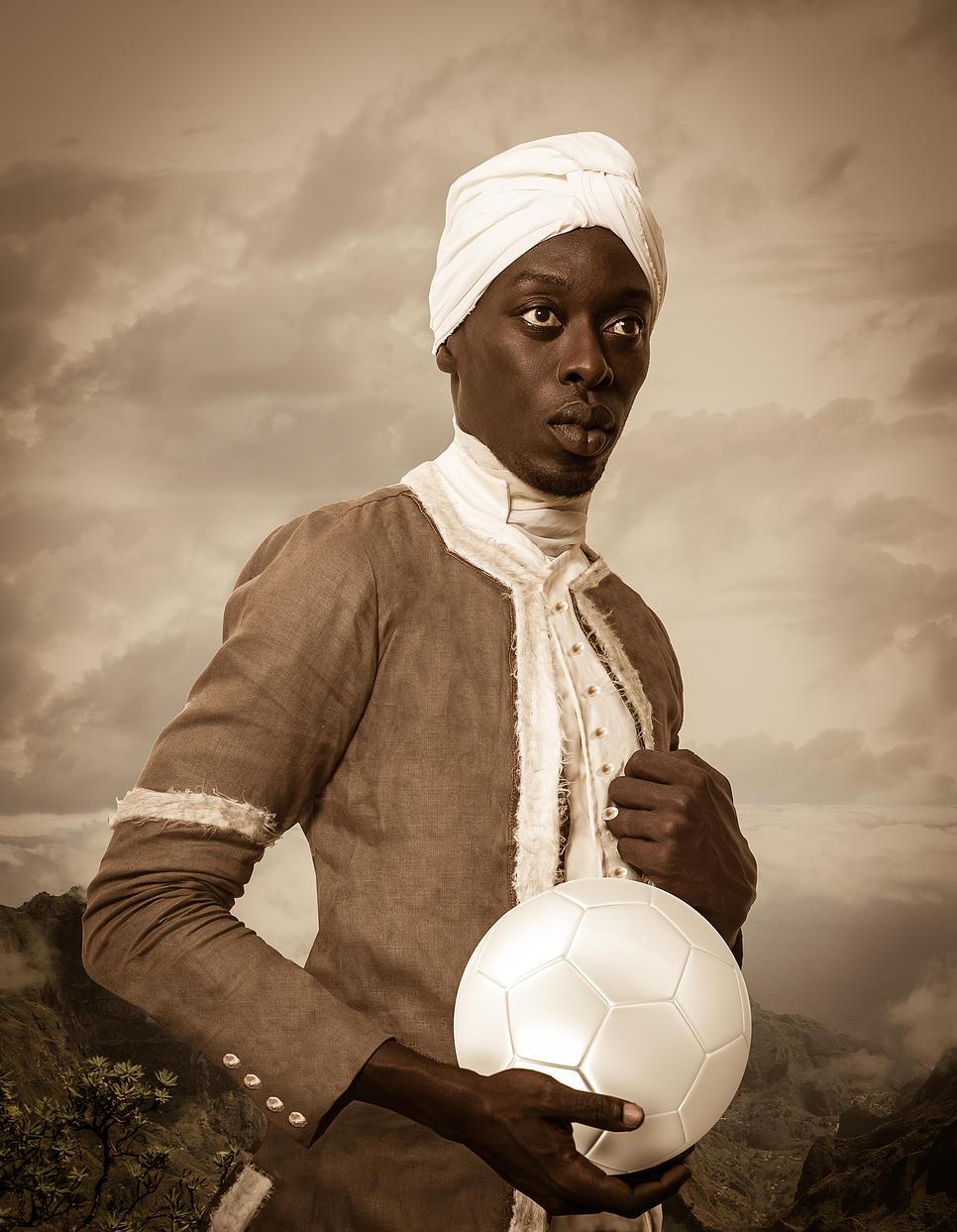 Griot Magazine Angelo Soliman ©Omar Vicotr Diop Project Diaspora