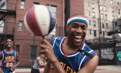 What happens when Stomp meets the Harlem Globetrotters?