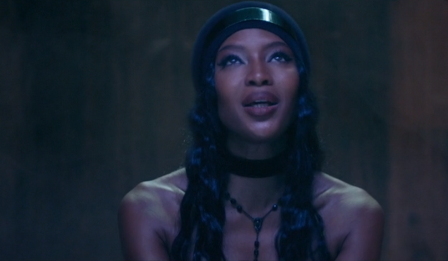 Drone Bomb Me |Naomi Campbell in ANOHNI's new video.