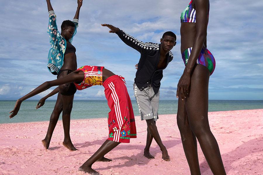 griot-mag-com-Pharelles williams pink beach adidas-01