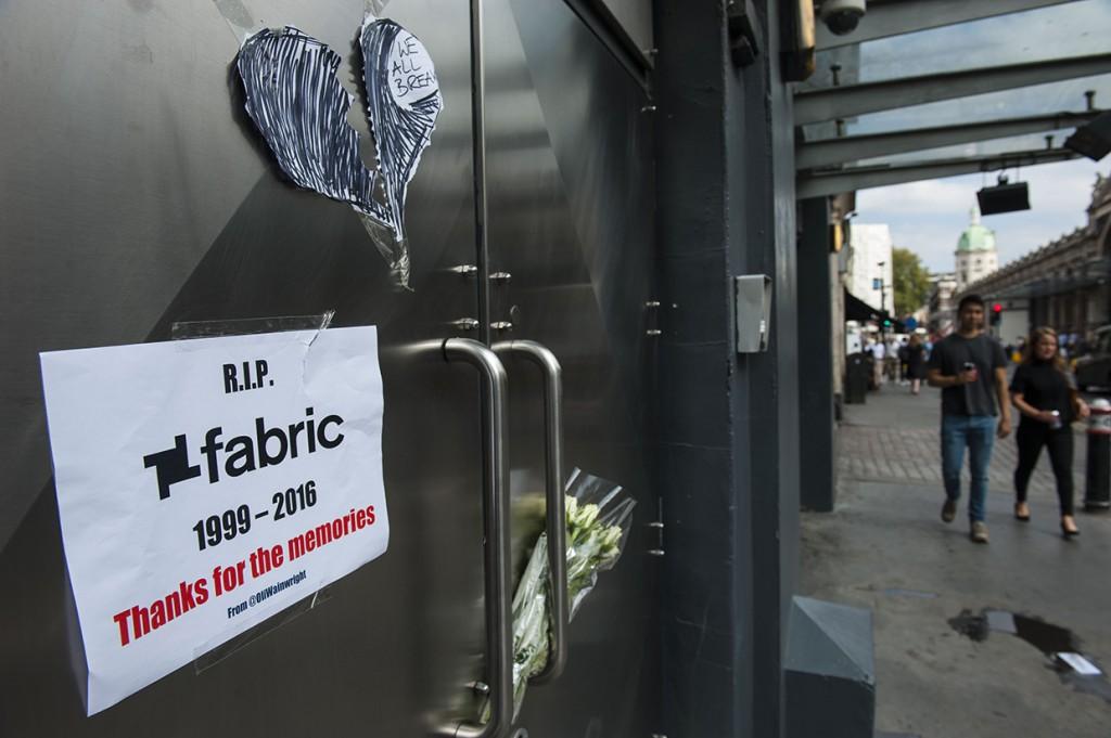 'Fabric' nightclub forced to close, London, UK - 07 Sep 2016