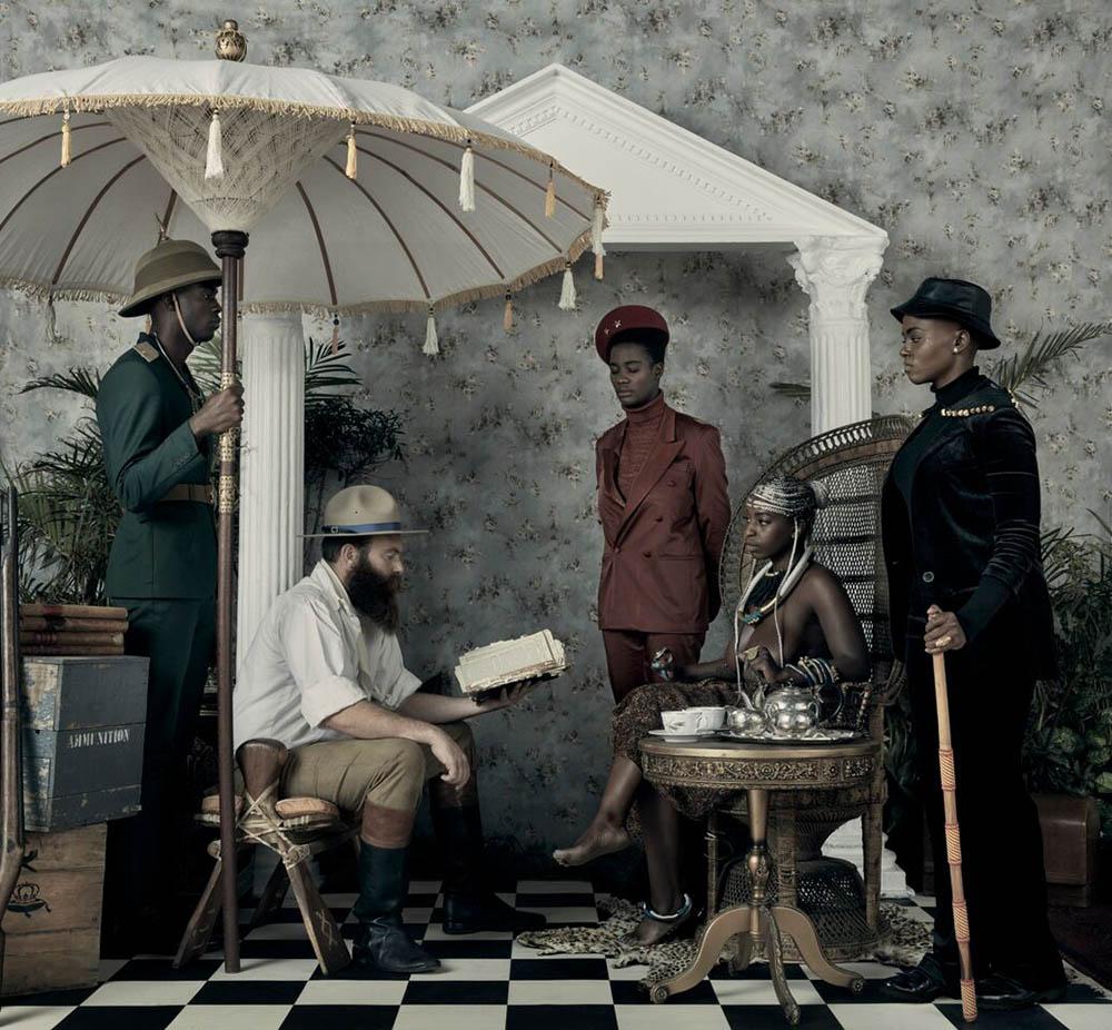 griot-mag-Lagos-Photo-Festival-Kudzanai Chiurai - Genesis