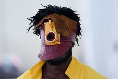 Afrogallonism   A day in Serge Attukwei Clottey's studio