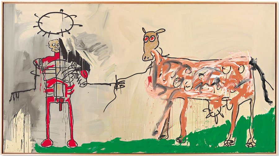 griot-mag-radiant-child-al-mudec-mostra-Basquiat-The-Field-Next-to-the-Other-Road-1981