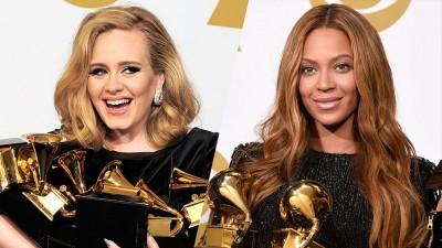 Adele e Beyoncé schiaffeggiano il razzismo dei Grammy Awards