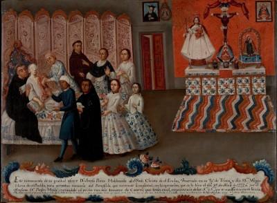 Peres Maldonado Ex Voto nel 1777 lanciò la prima campagna social per la lotta al tumore