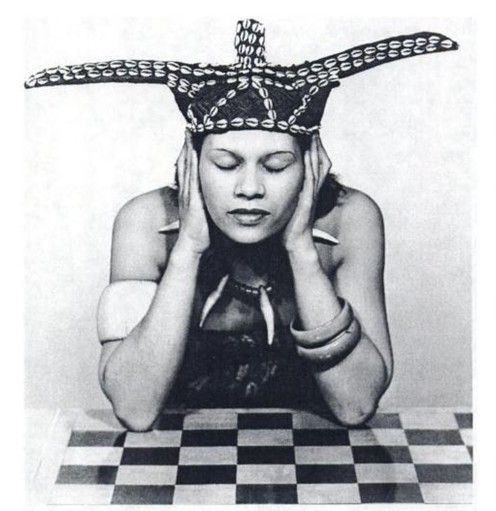 """griot-mag-adrienne-fidelin-_man-ray-Adrienne Fidelin 