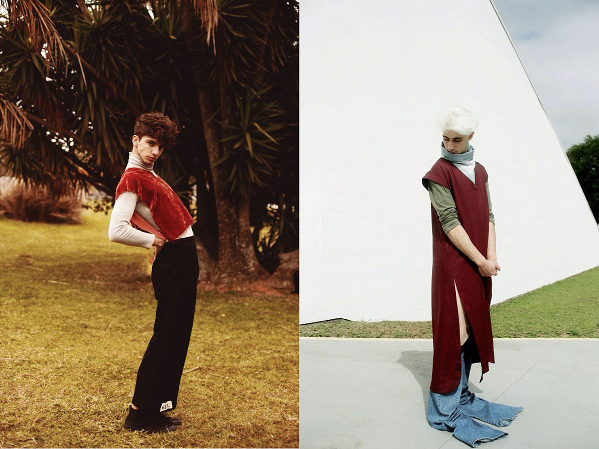 Brazil | Gabriel Hilair and Dúdús fight racism and homophobia through fashion- and art