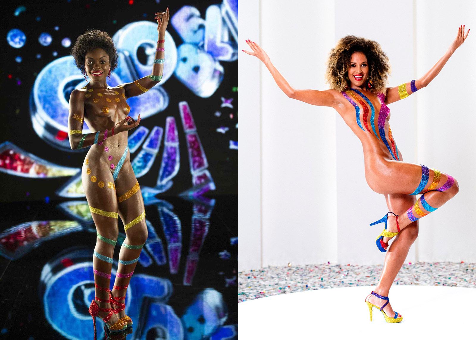 brazil-griot-mag-Gabriel Hilair and Dúdús fight racism and homophobia through fashion and art_nayara-justino-erika-moura-globeleza