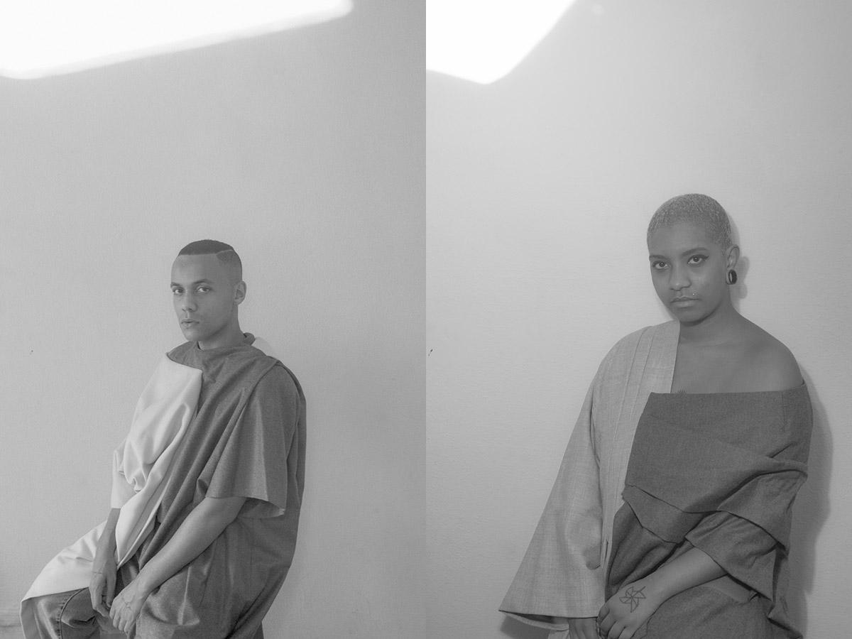 griot-mag-Gabriel Hilair and Dudus fight Brazil racism and homofobia through fashion and art-Guilherme Teixeira e Mayara Wui by Murillo José