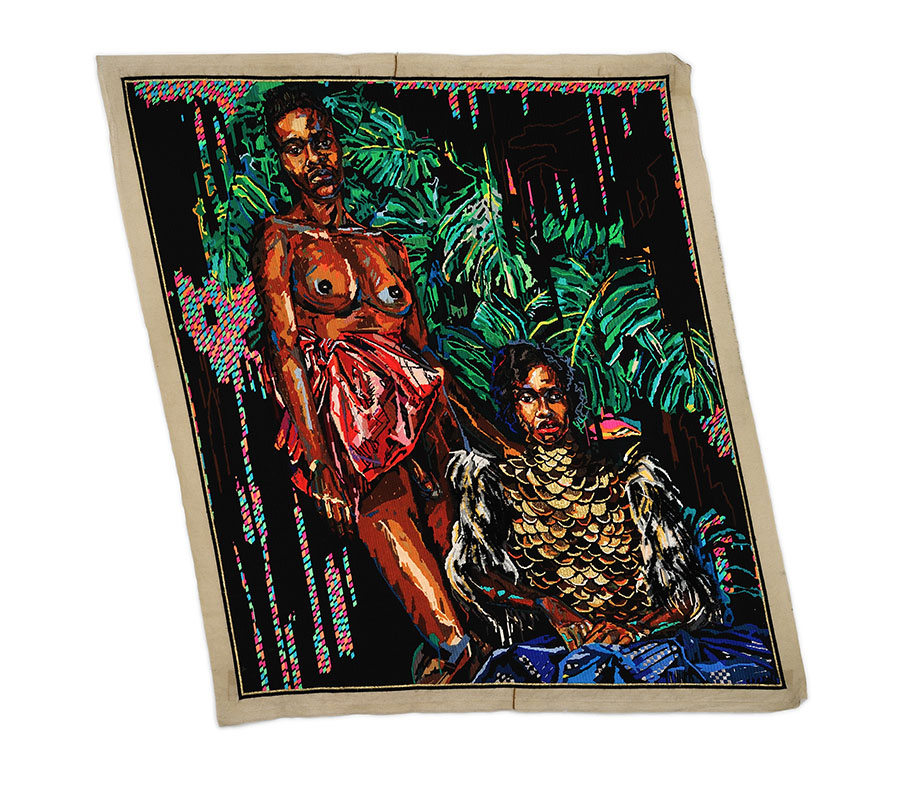 griot-mag-lilian-_thuram-art-afrique-louis.vuitton-foundation-_.Ruga, The Glamouring of the Versatile Ivy