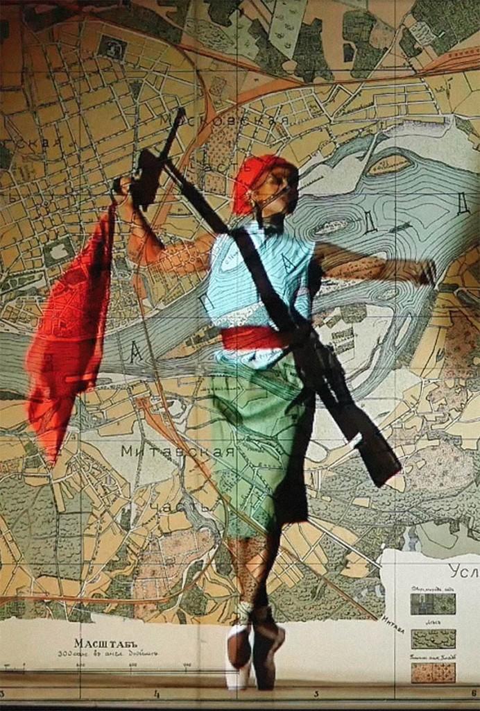 griot-mag-lilian-_thuram-art-afrique-louis.vuitton-foundation-racism-in-sport-contemporary-african-art-Notes Towards a Model Opera [screenshot, dettaglio] (2015) di William Kentridge