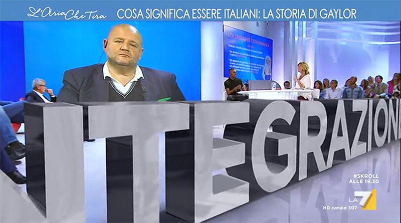 griot mag- l'aria _che tira la7 ius soli riforma cittadinanza