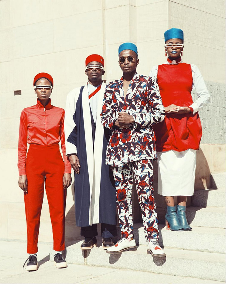 Trevor Stuurman launches The Fez Hat collection with Simon & Mary