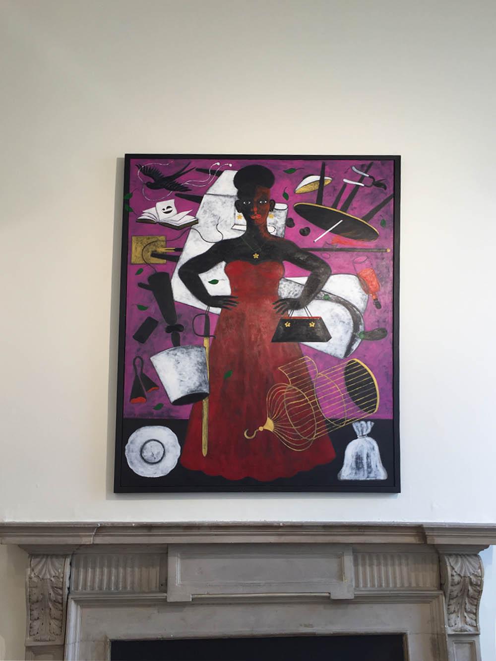 griot mag -abe -odedina artista _nigeriano 1-54 african art fair-4