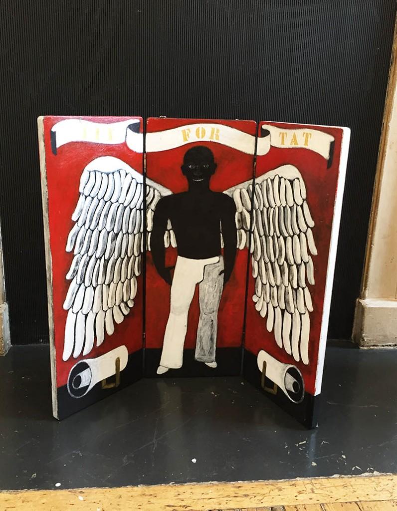 griot mag abe odedina artista _nigeriano 1-54 african art fair