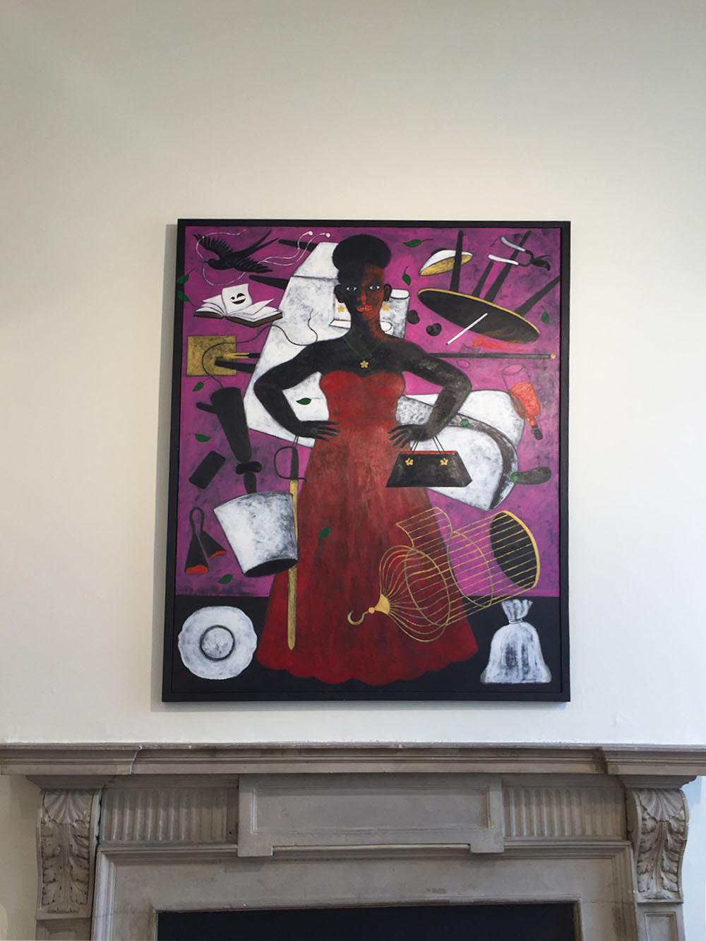 griot- mag -abe -odedina artista _nigeriano 1-54 african art fair