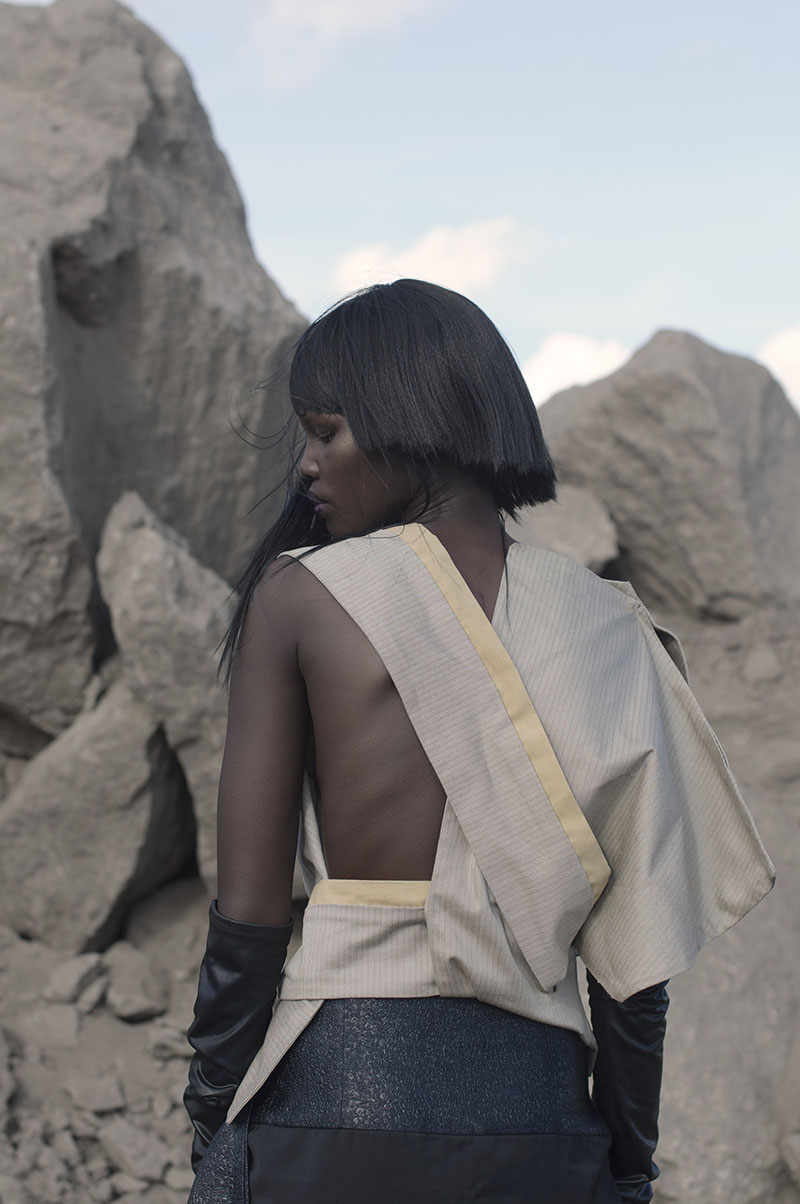 griot mag not african enough - the nest collective-Model Shanelle Nyasiase_Outfit Kepha Maina_Image Sunny Dolat