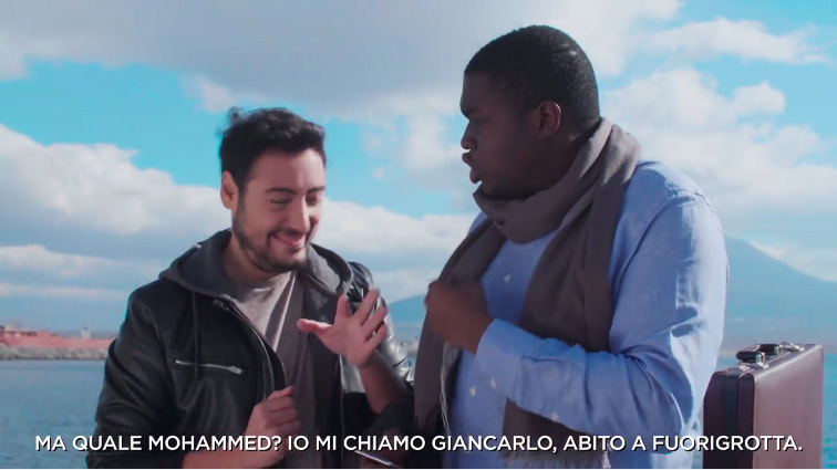 griot mag the jackal -action aid video natale razzista?