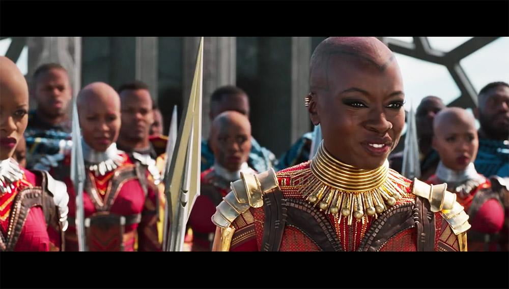 griot mag Nuovo trailer 'Black Panther' |La colonna sonora del film è di Kendrick Lamar