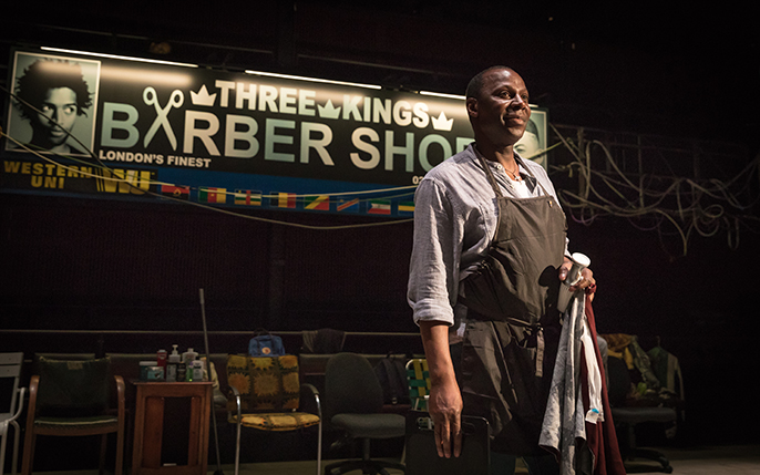 griot mag Barber Shop- Chronicles | Inua Ellams disentangles the nuances of Black Masculinity in Play