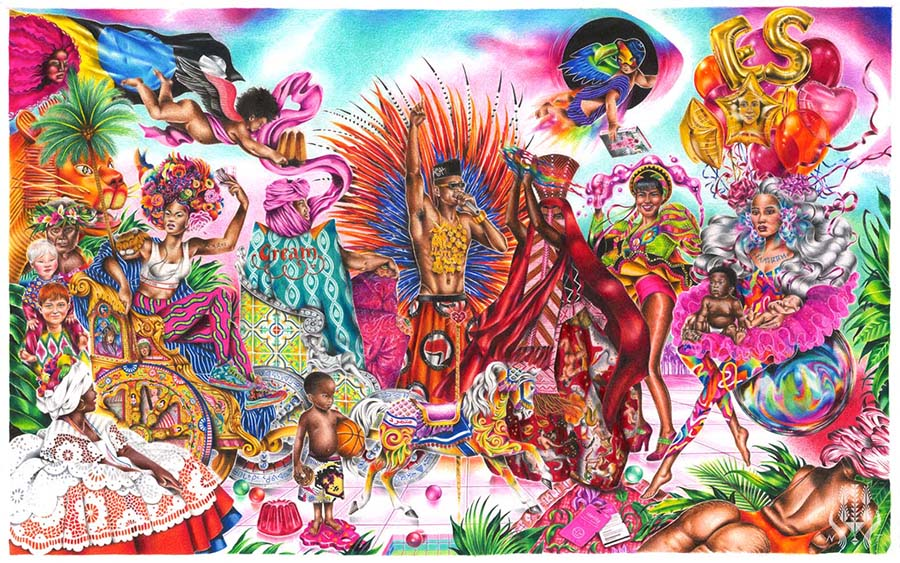 griot-mag-Noura -Tafeche -on her transcultural- dreamlike worlds