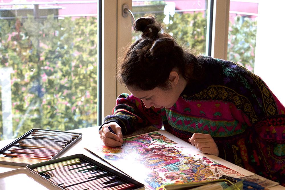griot-mag-Noura Tafeche on her transcultural dreamlike worlds