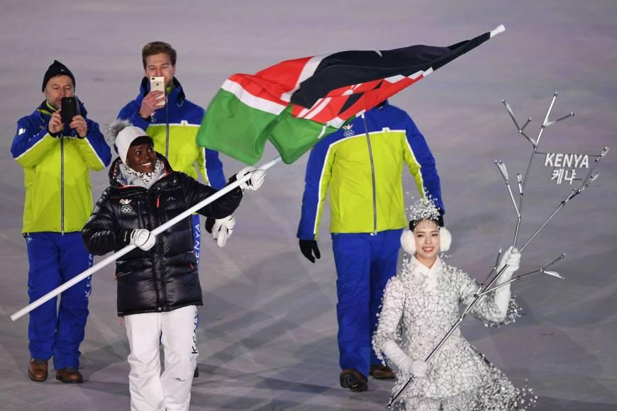 griot mag -sabrina-simader- Giochi di Pyeongchang | Mai così tanti africani | Wow!