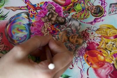 Noura Tafeche on her transcultural dreamlike worlds