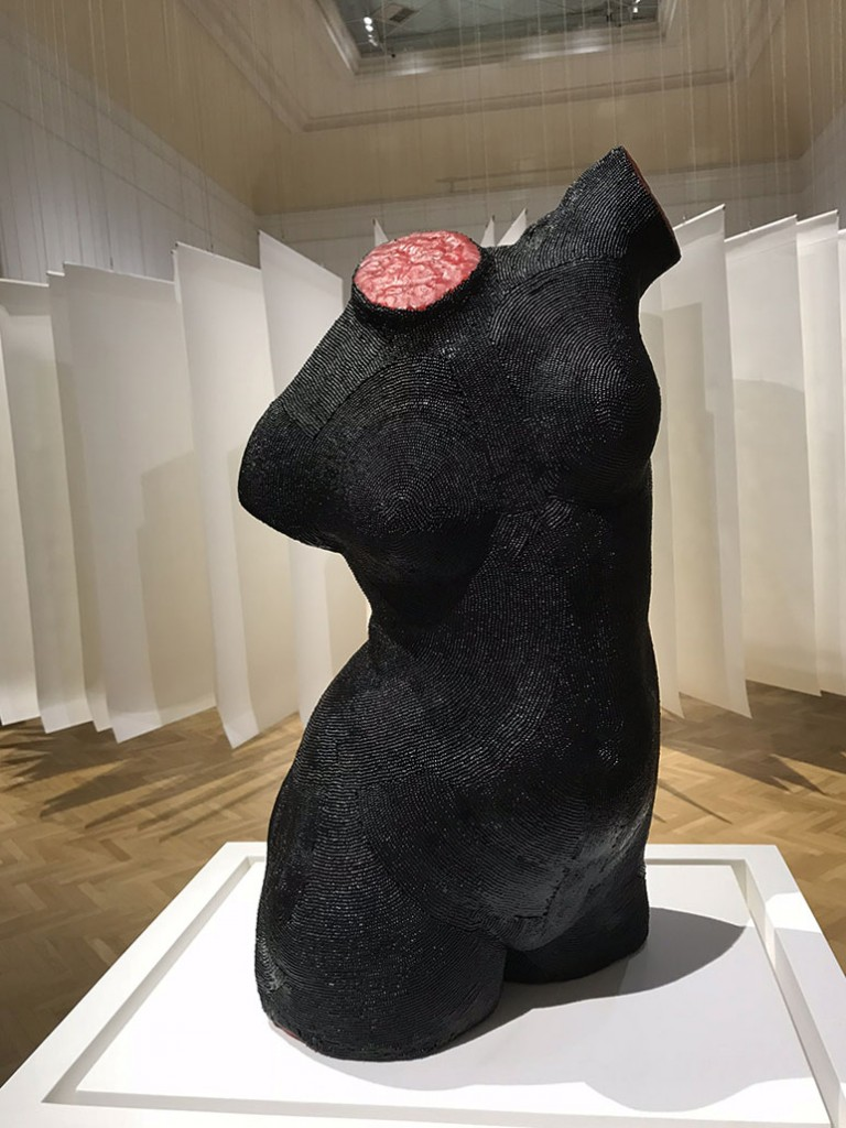 griot mag- griot mag I Is the Other Be The Other Galleria NAzionale ARte Moderna Roma-Essere l'Altro-Beya Gille Gacha-Venus Nigra_