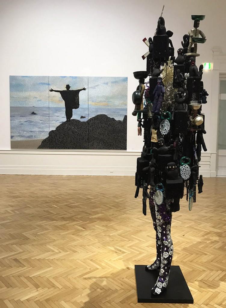 griot mag I Is the Other Be The Other Galleria NAzionale ARte Moderna Roma-Essere l'Altro-Billi Bidjocka-_
