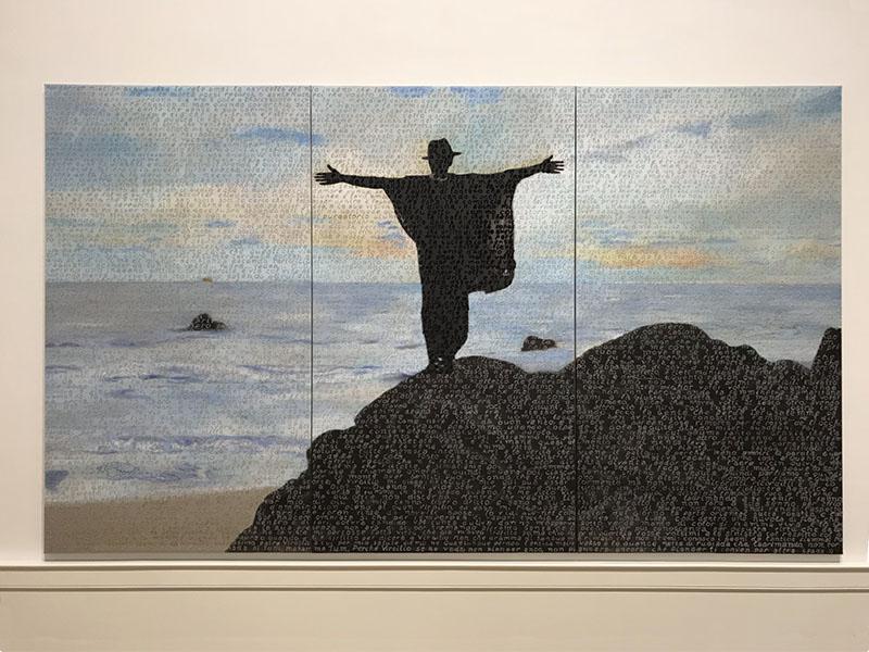 griot mag I Is the Other Be The Other Galleria NAzionale ARte Moderna Roma-Essere l'Altro-Billi Bidjocka-Purgatorio'