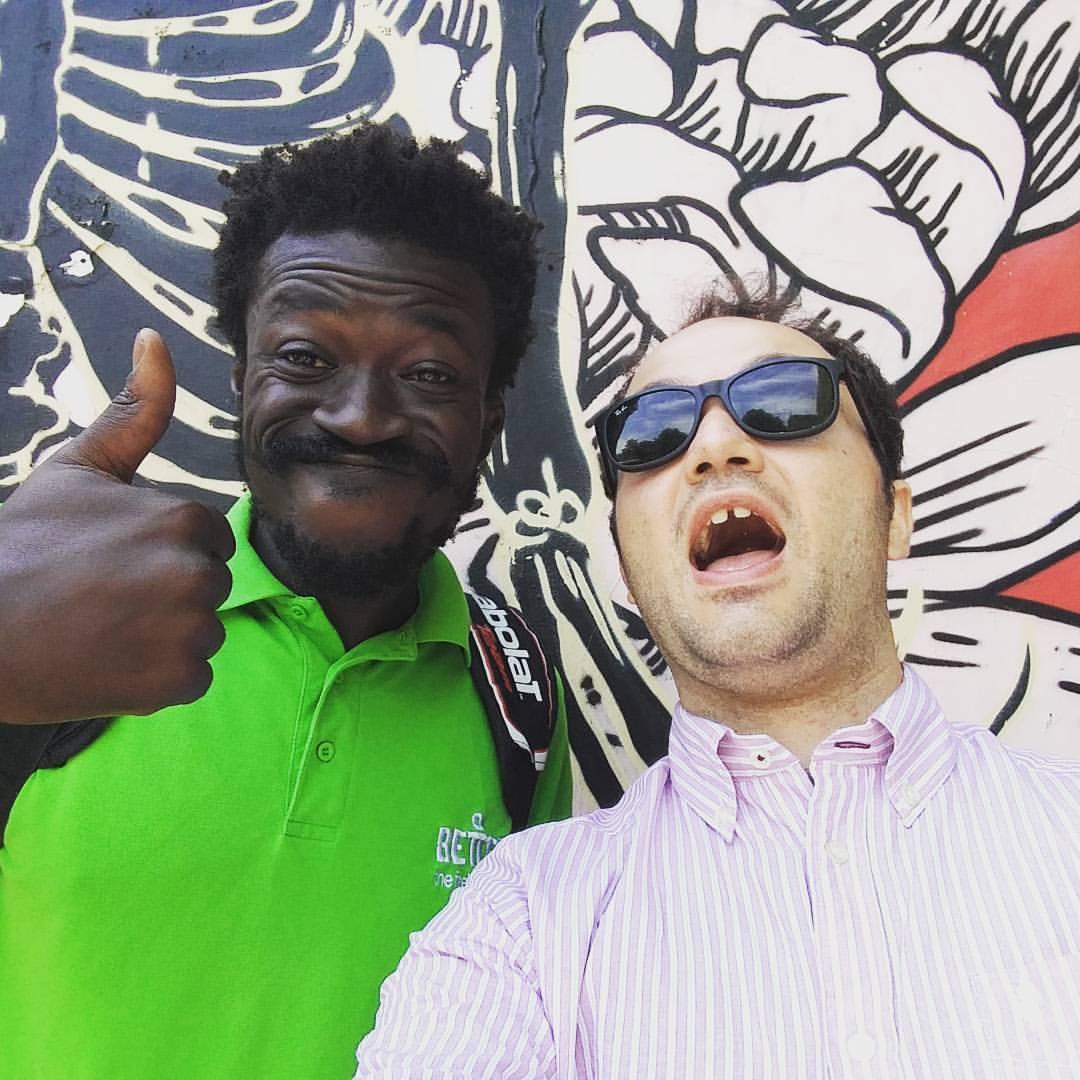 Kwam and Lorenzo BITW - via