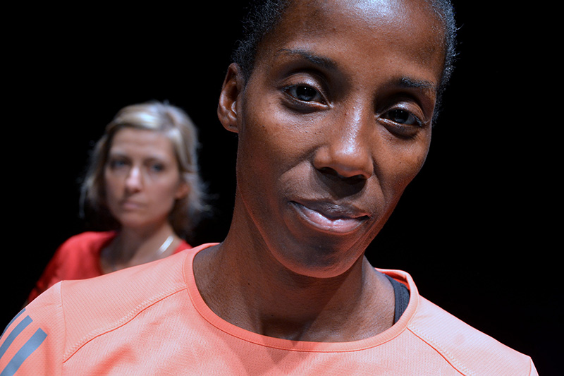 Fiona May e Luisa Cattaneo a teatro in 'Maratona di New York'