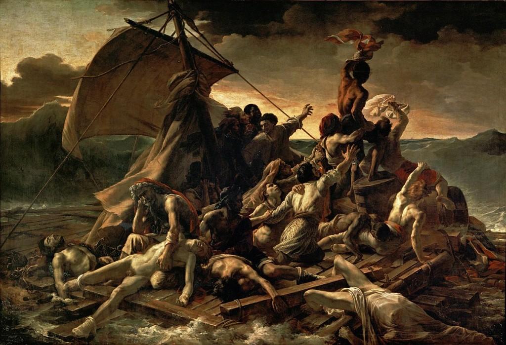 The Raft of the Medusa (1819), Théodore Géricault - via