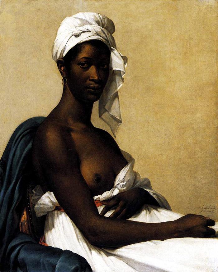 Portrait of Madeleine (1800), Marie-Guillemine Benoist - via