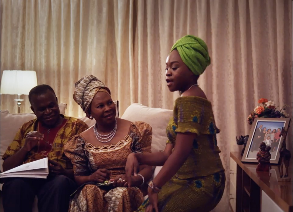 Sampa The Great and her parents in OMG - still video