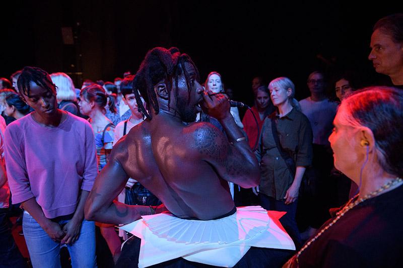 griot mag nora chipaumire short theatre intervista #punk 100% pop *nigga-