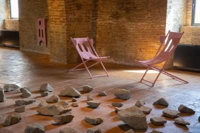 La residenza di Michele Mathison e Oren Pinhassi | Le opere al Castello di San Basilio