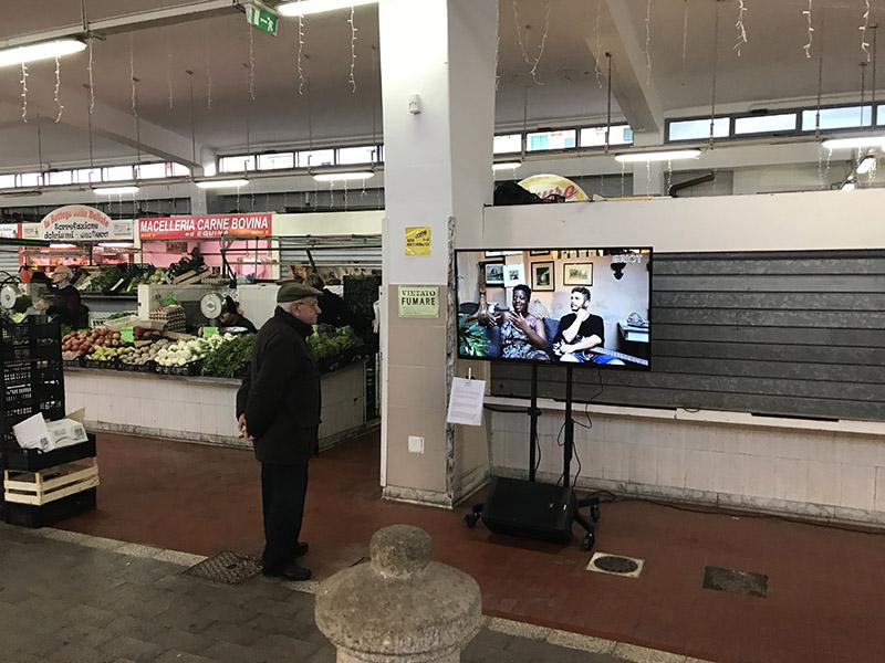 griot _ mag (Memorie) In Ascolto, installazione video a cinque canali – Technoir (2017)