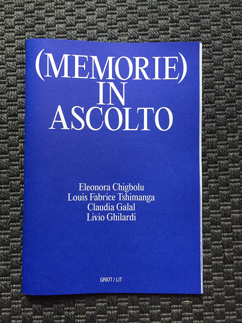 griot-mag-memorie-in-ascolto-listening memories curated - a cura di by Johanne Affricot