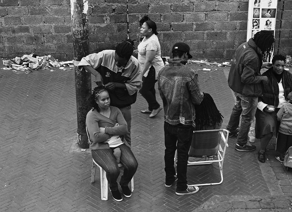 An Intimate, Transnational, Black 'Hairspace'