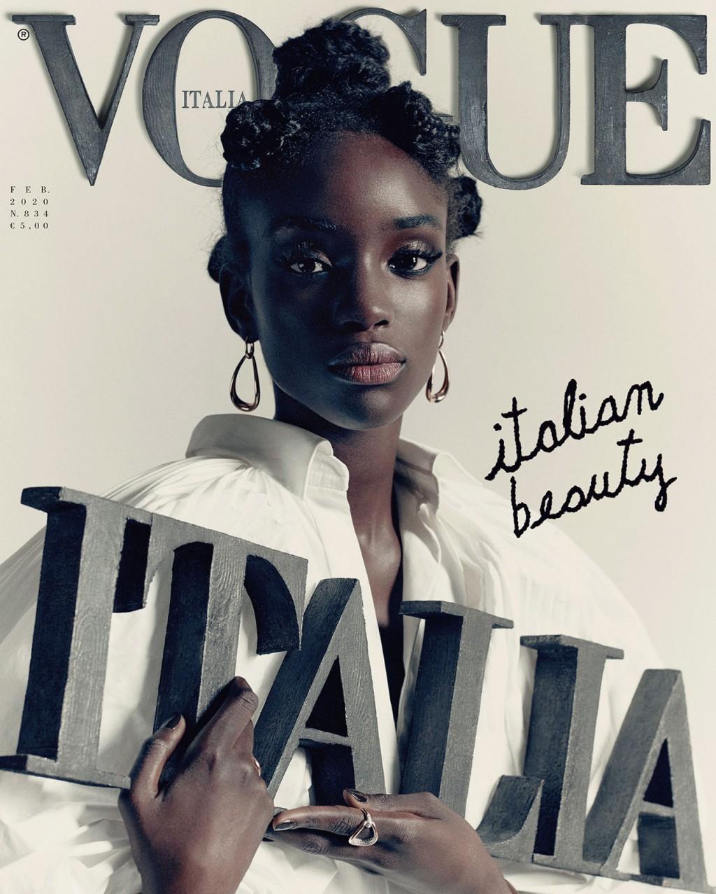 Bellezza Italiana | La copertina di Vogue Italia con Maty Fall non è solo una copertina