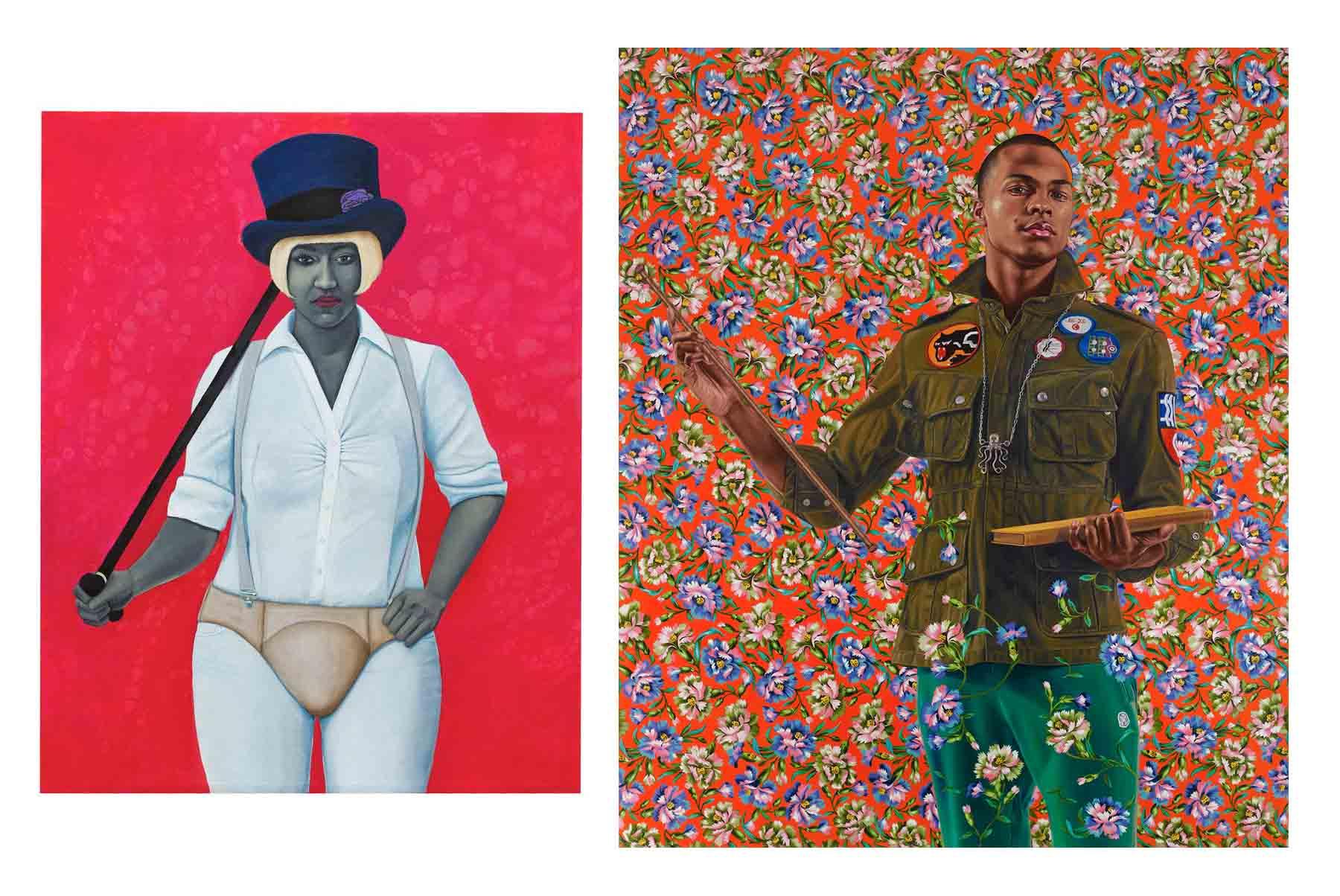 griot _-mag Amy Sherald _e Kehinde- Wiley scelti per ritrarre gli Obama_