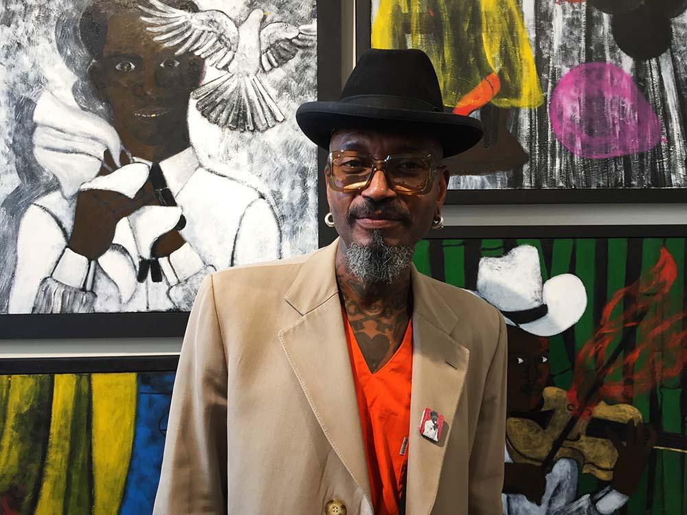 griot mag abe odedina artista nigeriano 1-54 african art fair