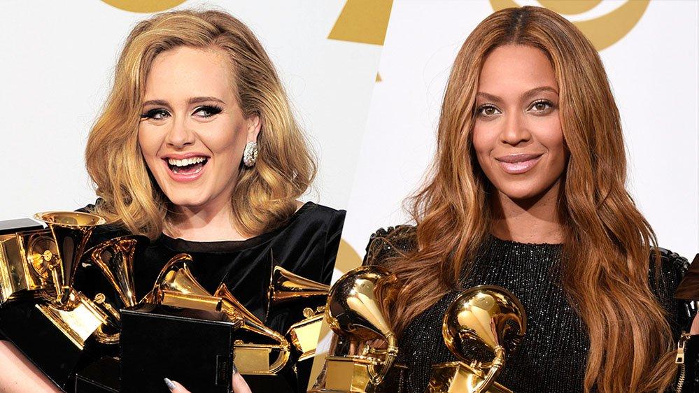 griot-mag-Adele e Beyoncé schiaffeggiano il razzismo dei Grammy Awards