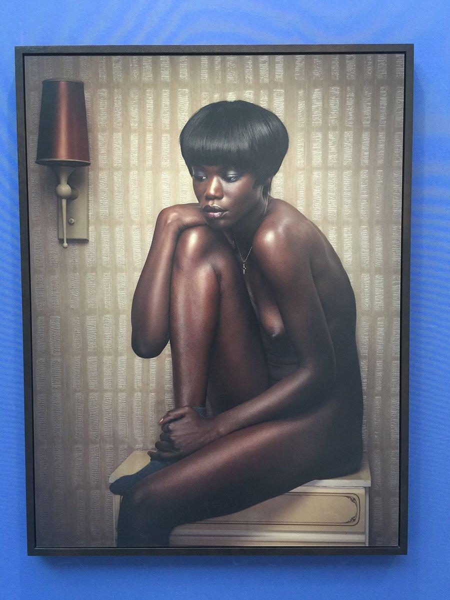 griot-mag-Africa Now Parigi Un vento d'Africa soffia sulle nostre anime-Sarah Portrait Erwin Olaf-Winston Salem